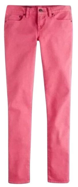 Item - Pink Medium Wash Toothpick Skinny Jeans Size 27 (4, S)