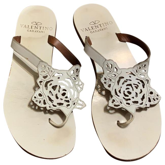 Item - White Rose Sandals Size EU 38 (Approx. US 8) Regular (M, B)