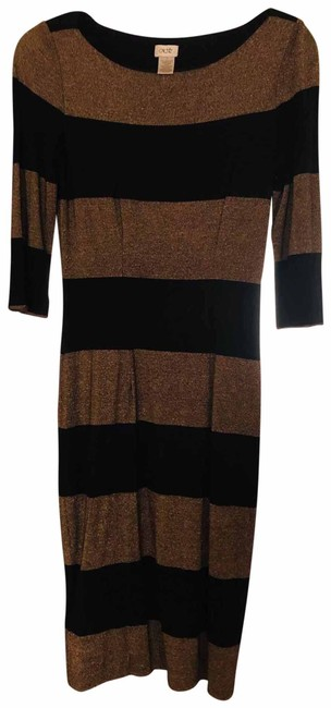 Item - Black and Gold By Short Cocktail Dress Size 4 (S)