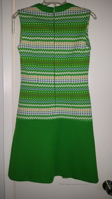 Other short dress green A-line Vintage on Tradesy