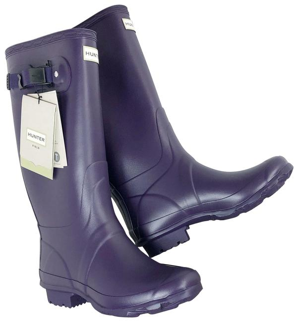Item - Purple Knee High Boots/Booties Size US 9 Regular (M, B)