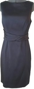 Kay Unger Satin Dress