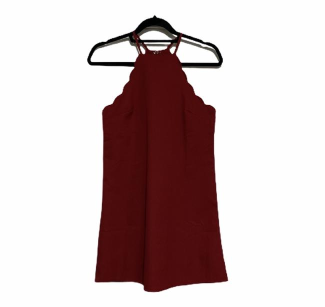 Item - Red XS Endlessly Endearing Short Cocktail Dress Size 2 (XS)