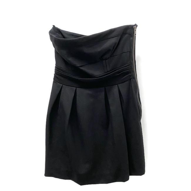 Item - Black Tere Short Formal Dress Size 4 (S)