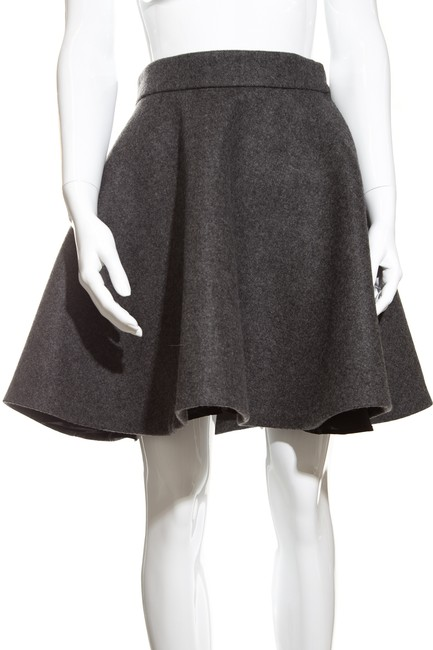 Item - Charcoal Wool 40 Skirt Size 4 (S, 27)