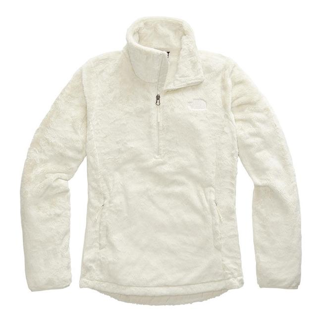 Item - Vintage White Osito 1/4-zip Fleece Pullover Activewear Outerwear Size 8 (M)
