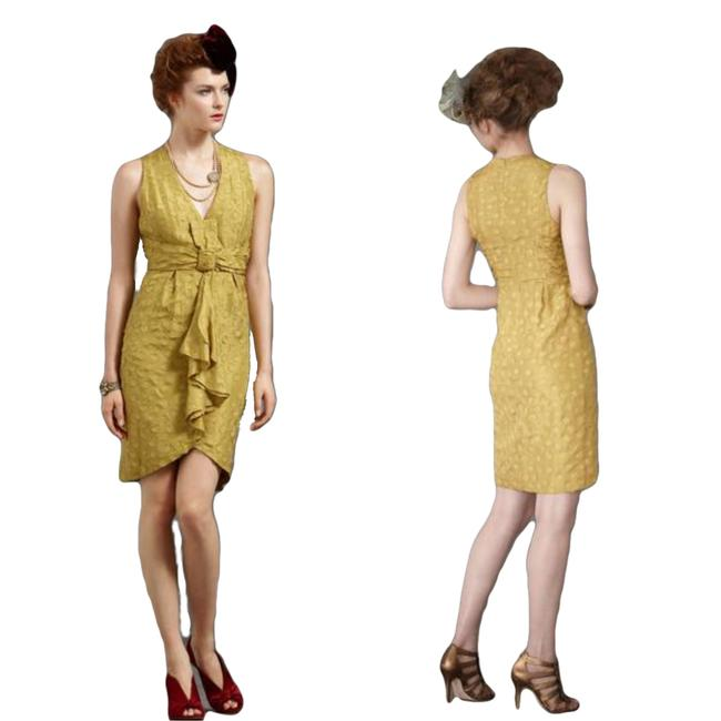 Item - Yellow/Gold Quillaree Tethered Nwot Short Cocktail Dress Size 2 (XS)