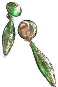 Other Marked down - Venetian glass drop clip on earrings