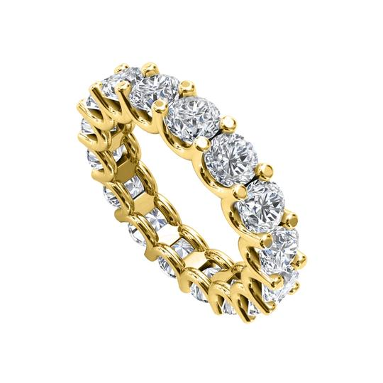 Preload https://img-static.tradesy.com/item/27790582/yellow-gold-cubic-zirconia-wedding-eternity-band-14k-ring-0-0-540-540.jpg