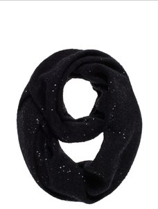 Kate Spade Kate Spade Cosmic Glow Sequin Infinity Scarf in Black