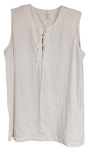 Lands' End Top White
