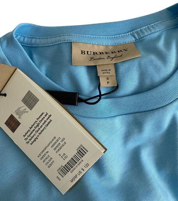 Burberry Blue Tee Shirt Size 4 (S) Burberry Blue Tee Shirt Size 4 (S) Image 1