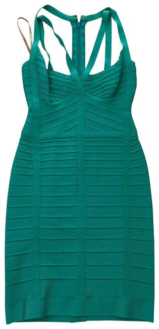 Item - Aqua . Short Cocktail Dress Size 4 (S)