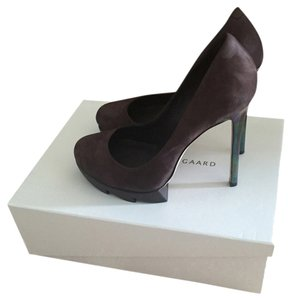 Camilla Skovgaard Saw Sole Platform A11006.3 Plum Pumps