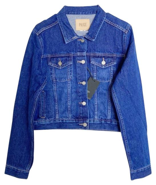 Item - Blue Vivienne Relaxed Adelaide Jacket Size 12 (L)