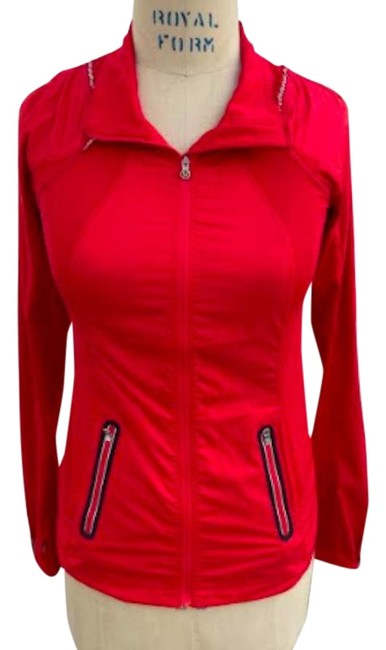 Item - Red Athletica Light Activewear Outerwear Size 4 (S)