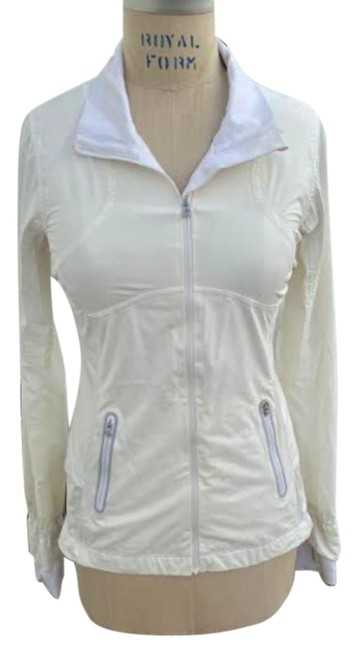 Item - Cream Athletica Stretch Running Activewear Outerwear Size 4 (S)
