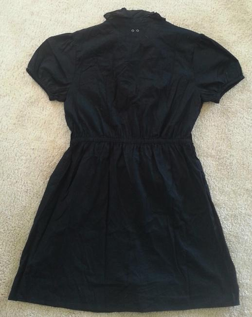 Converse short dress Black Ruffle Cap Sleeve on Tradesy