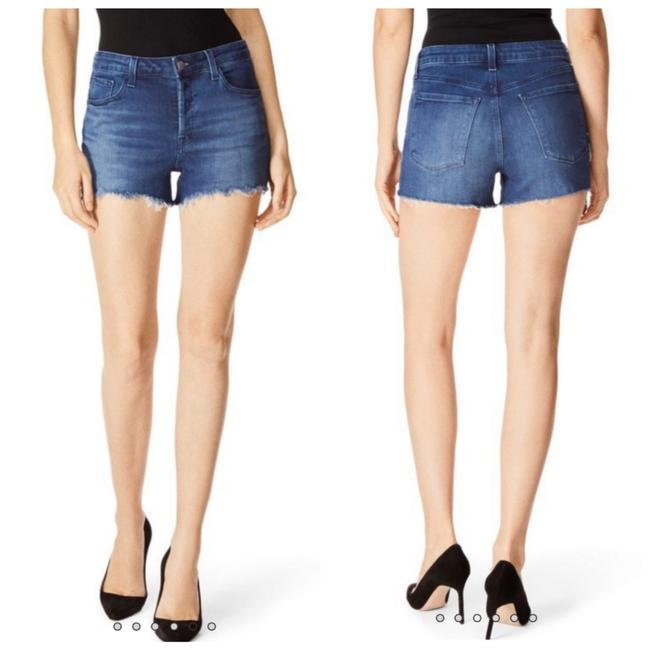 J Brand Blue Gracie High Rise In Galaxy Shorts Size 8 (M, 29, 30) J Brand Blue Gracie High Rise In Galaxy Shorts Size 8 (M, 29, 30) Image 1