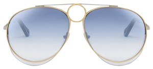 Item - Blue Silver New Romie Ce144s Aviator Sunglasses
