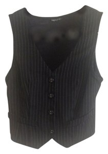 Wet Seal Pinstripe Business Vest