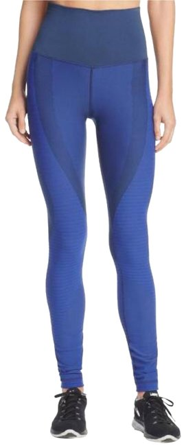 Item - Blue Pro Sculpt Zoned Compression Tights Activewear Bottoms Size 2 (XS)