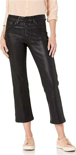 Item - Black Coated Callie High Rise Capri/Cropped Jeans Size 25 (2, XS)