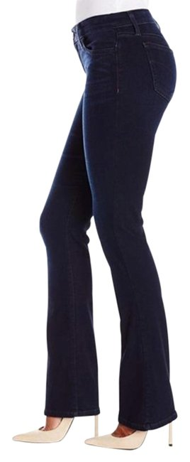 Item - Dark Blue Rinse The Classic Boot Cut Jeans Size 28 (4, S)