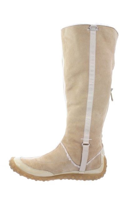 Item - Beige G Series Suede Shearling Boots/Booties Size US 9.5 Regular (M, B)
