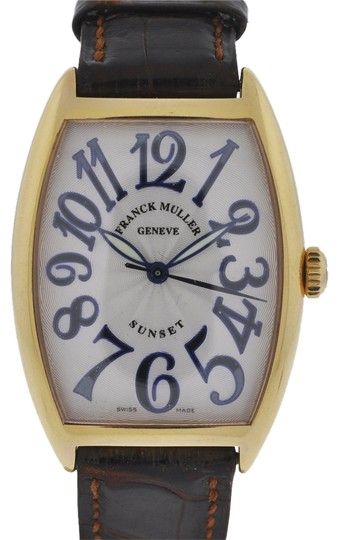 Franck Muller Franck Muller Sunset 18k Rose Gold Watch 2852
