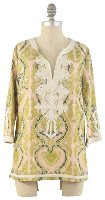 Item - Green Silk Blouse Size 6 (S)