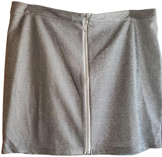 Item - Silver H&m Junior Skirt Size 2 (XS, 26)