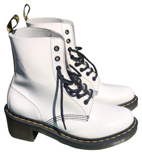 Item - White Shriver Boots/Booties Size US 8 Regular (M, B)