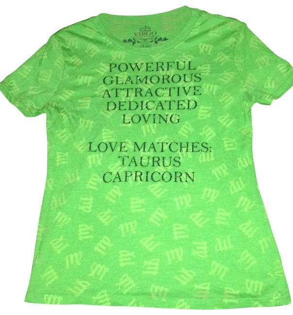 Express T Shirt Lime Green