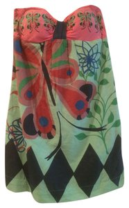 Colcci short dress Pink Green Multi on Tradesy
