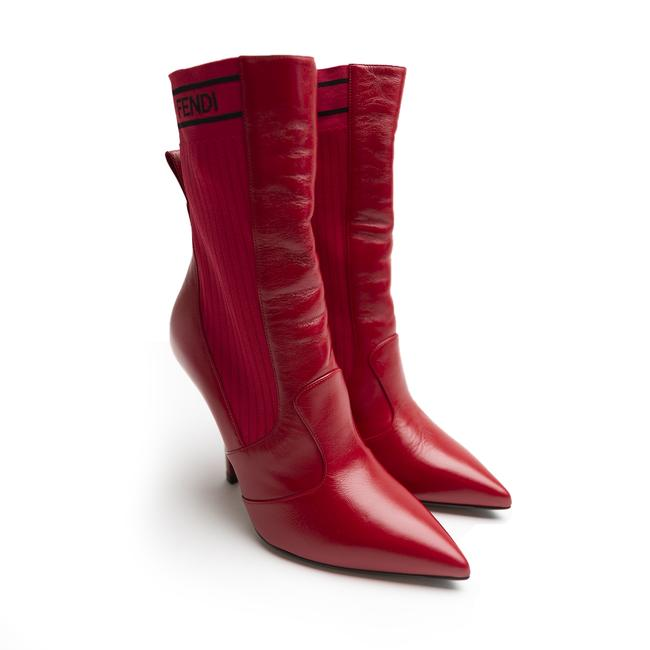 Item - Red Ankle Boots/Booties Size EU 41 (Approx. US 11) Regular (M, B)