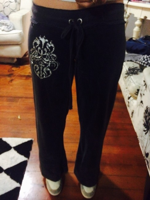 Twisted Heart Athletic Pants black
