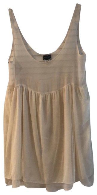 Item - Cream Intimately Ballerina Slip Short Night Out Dress Size 8 (M)