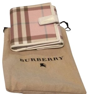 Burberry London Pink Burberry Wallet