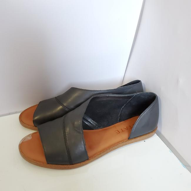 Item - Black Celvin Wrap Flats Size US 6.5 Regular (M, B)