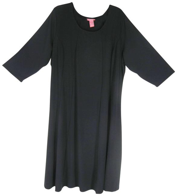 Item - Black All Occasion Mid-length Work/Office Dress Size 22 (Plus 2x)
