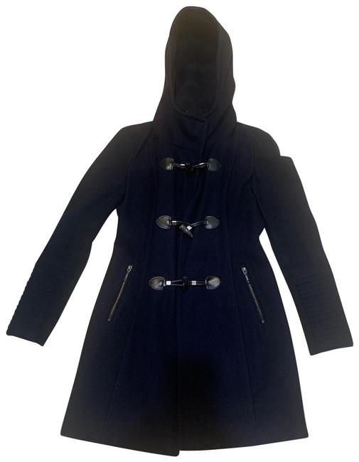 Item - Dark Blue Women's Zipper Closure Extra Small Coat Size 2 (XS)