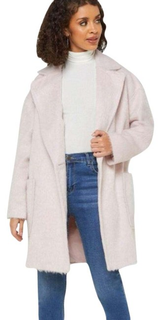 Item - Pink Carly Long Coat Size 8 (M)
