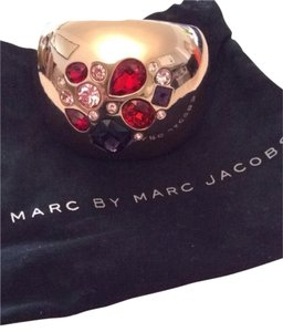 Marc by Marc Jacobs Marc By Marc Jacobs Gold Bangles With Charm Stones