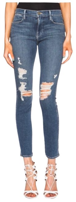 Item - Seeley Distressed Le High Skinny Jeans Size 2 (XS, 26)