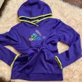 adidas Purple Climawarm Hoodie Activewear Top Size 8 (M) adidas Purple Climawarm Hoodie Activewear Top Size 8 (M) Image 4