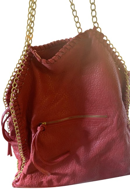 Item - Pebbled Red Cowhide Leather Hobo Bag