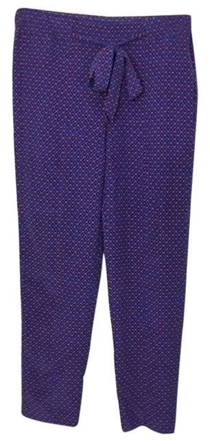 Item - Blue Red Talia Pants Size 4 (S, 27)