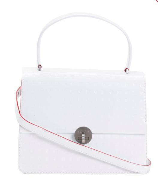 Item - Made In Italy White Patent Leather Tote