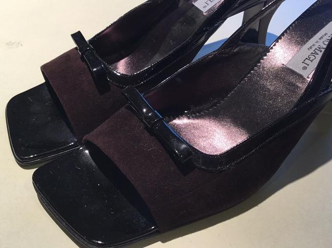 Bruno Magli Brown and Black Made In Italy Formal Shoes Size US 8.5 Regular (M, B) Bruno Magli Brown and Black Made In Italy Formal Shoes Size US 8.5 Regular (M, B) Image 2